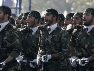 La Guardia Revolucionaria iraní