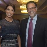 Gabriela Reginato y Carlos Ros.