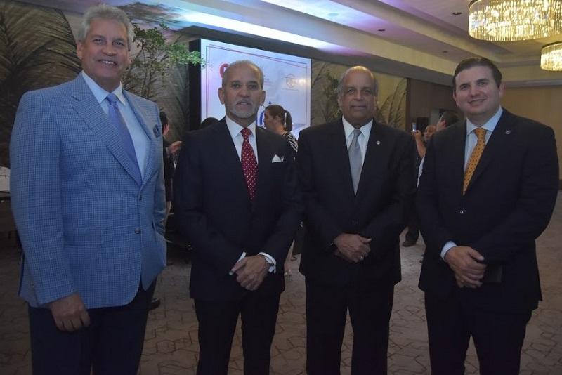 Foto 3 José Luis Núñez, Sigfrido Pared Pérez, Juan Daniel Balcácer y Andrés Marranzini.