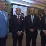 José Luis Núñez, Sigfrido Pared Pérez, Juan Daniel Balcácer y Andrés Marranzini.