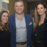 Vanessa Gabiria, Ryan Polanco y Tina Levy,