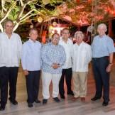 Jaime Tavarez,Humberto Pichardo,Sandy Gabriel,Reinaldo Soto,Luis López y Peter Wuest