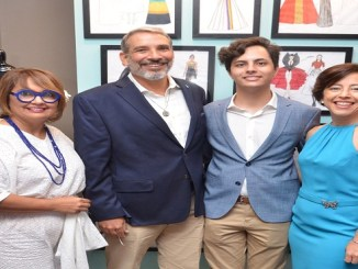 Anny Abate, Antonio Esteban, David Esteban y Samantha Canals