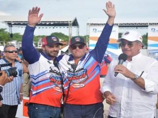 Alex Guzmán y Alfredo Nin, organizaron La Media Milla Sunix, el evento de velocidad más ambicioso del Caribe