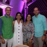 José Gamez, Helen Blandino, Jessica Rizik y Luis José Prieto