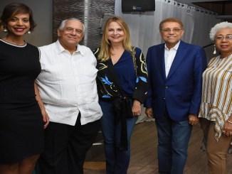 Amelia Deschamps, Fernando Morales, Nuria Piera, Domingo Bautista, Nexcy de León