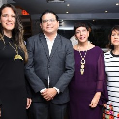 Stephanie Vicioso, Ignacio Bengoa, Marisol Genao, Carmen Irene Brugal