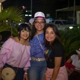 Luisa Rivas, Laura Rivas y Sindy Silvestre.