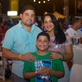 Raymundo Morales, Diego Morales y Maritz Muñoz.