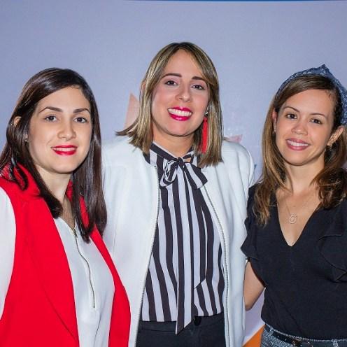 Pamela Santos, Elizabeth Vargas, Isabel Estrella.