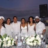 Rhoanna Pichardo, Sharine Nouel Morel, Omar Mukai, Kathia Sarit, Rosangela Pichardo e Isaac Sosa.