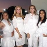 Orbis Soriano, Leiko Ortiz, Sandra Almánzar y Lissette Díaz.