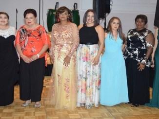 Las damas de La Asociación Mujeres Solidarias Incorporada AMSI