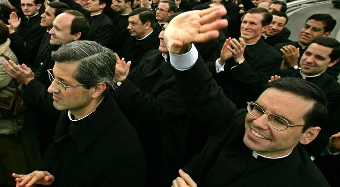 Parte de los Legionarios de Cristo, en 2005