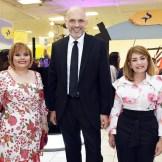 Rommy Grullon, Juan Garza y Gianna Batista.