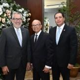 Enrique Valdez, Frank Padilla y Leo Morales Troncoso.