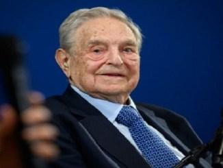 El inversor y filántropo George Soros, el 23 de enero de 2020 en el Foro Económico Mundial, en Davos, Suiza