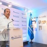 Manuel Enrique (Manolito) Tavárez, en representación de la familia Mirabal, agradeció el homenaje.
