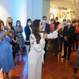 La soprano Nathalie Peña-Comas interpretó la canción Tierra escrita, dedicada a las Hermanas Mirabal, escrita por Aida Portalatín.