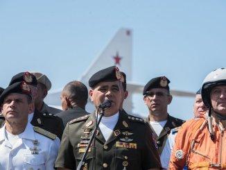 El ministro de Defensa de Venezuela, Vladimir Padrino López