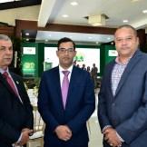 Feliciano Sierra, Diego Peralta y Piero Espinal.