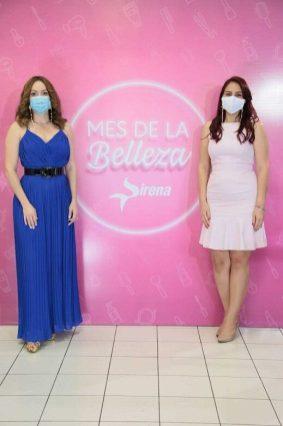 Miralba Ruiz y Marjorie Yermenos
