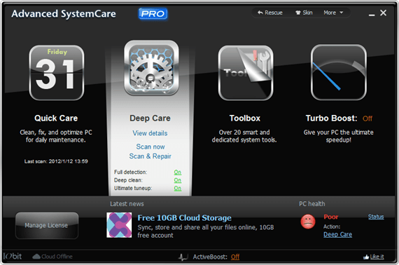 Advanced SystemCare PRO 5