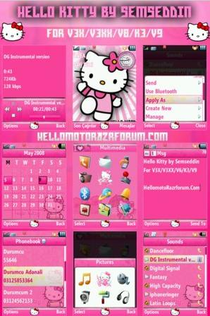 hellokitty theme