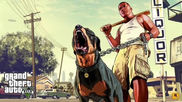 Grand Theft Auto V - Wallpaper