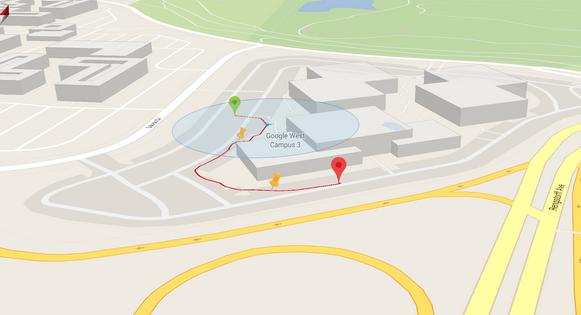 My Tracks grabar recorridos por medio del sistema GPS
