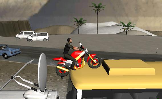 Moto Island juego de trucos en 3D