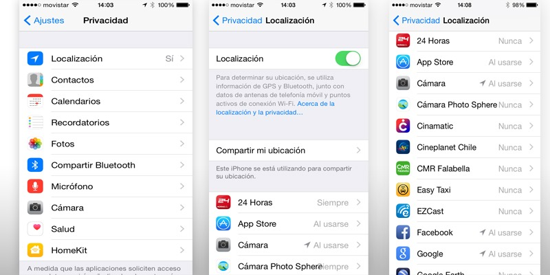 localizacion iOS