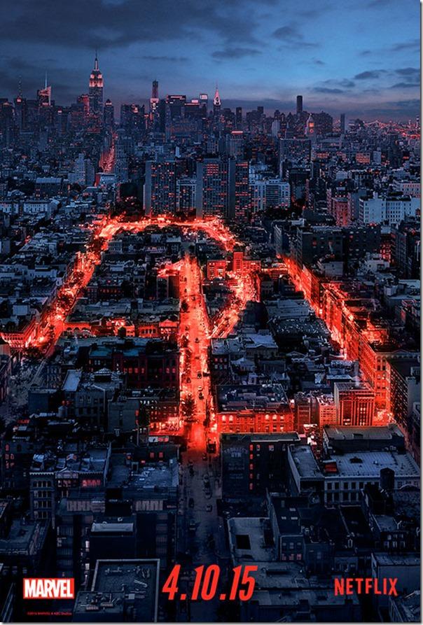 Poster Vertical Dardevil Netflix
