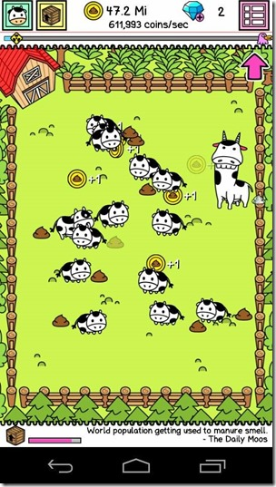 cow evolution granja
