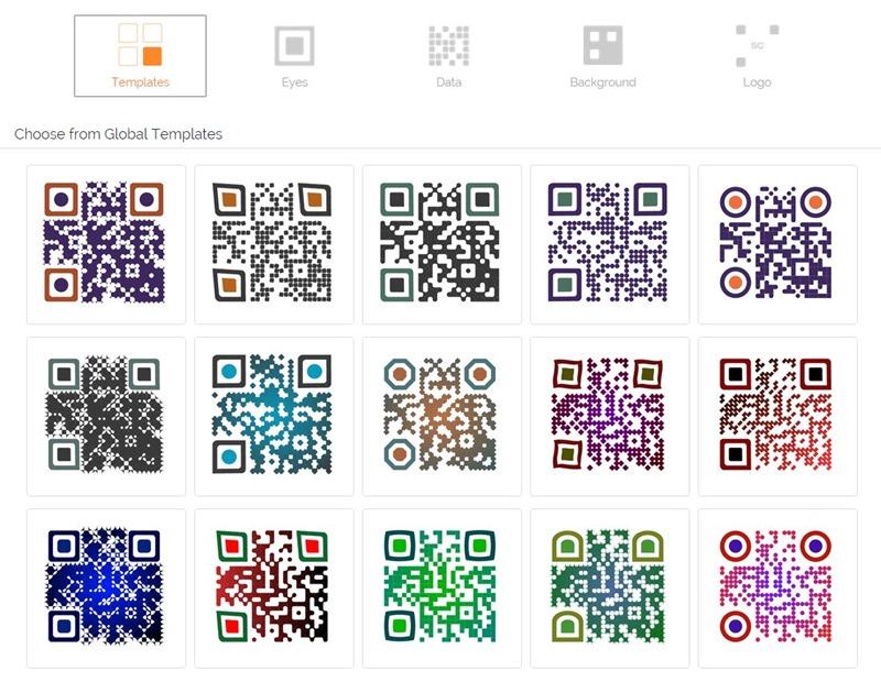 diseños códigos QR