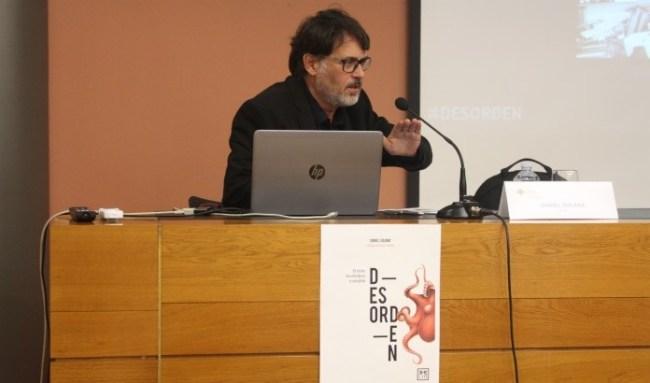 Presentación de Desorden en la universidad CEU Cardenal Herrera de Valencia