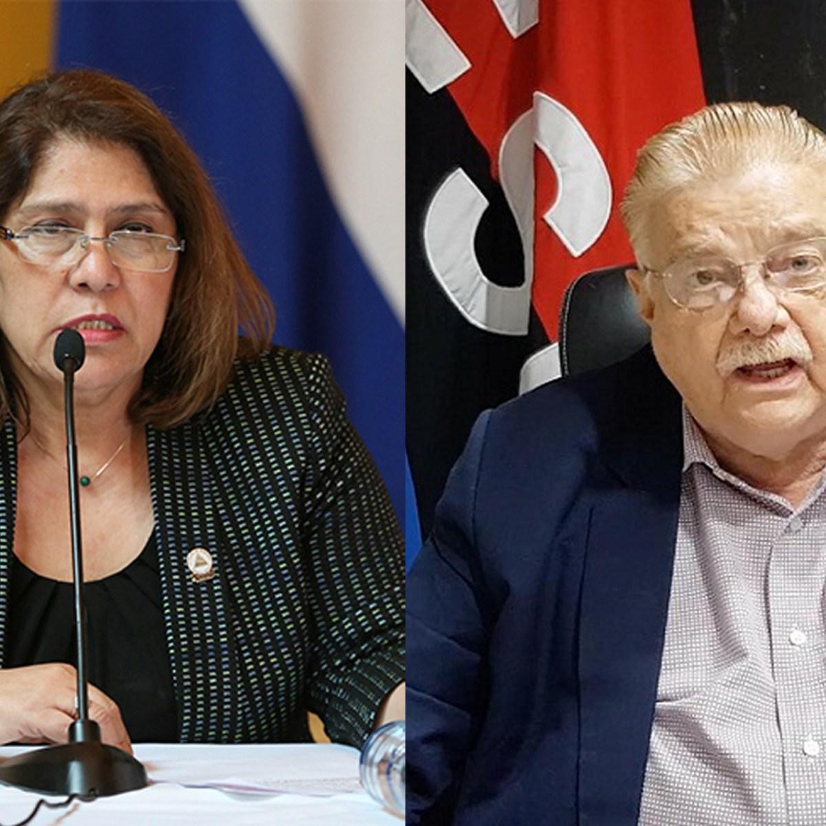 EE.UU. sancionó a Ana Julia Guido y a Paul Oquist