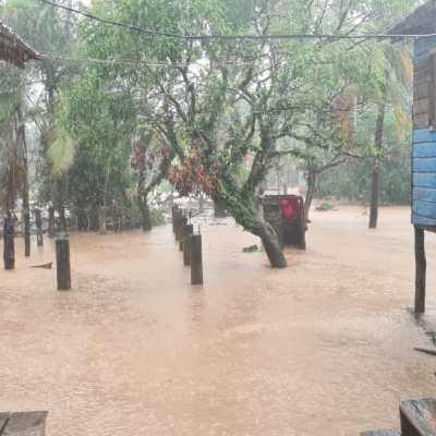 Inundaciones en Rivas