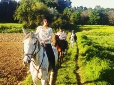 rutas a caballo coruña