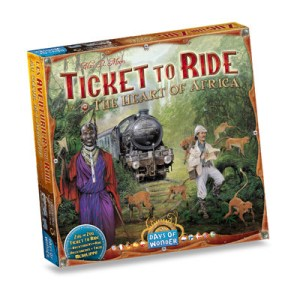 Ticket to Ride - Africa (Map Collection #3)