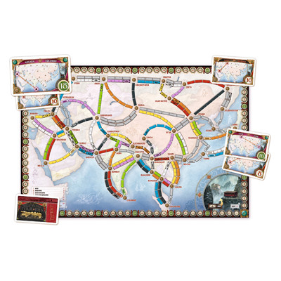 Ticket to Ride - Asia (Map Collection #1)