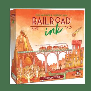 Railroad Ink: vuurrode versie