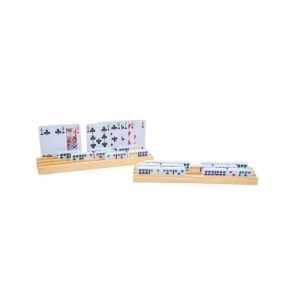 Domino- en Kaarthouder (4 stuks)