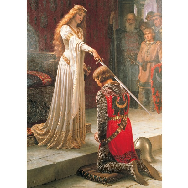 The Accolade - Edmund Blair Leighton