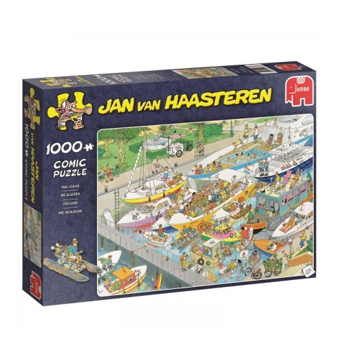 De Sluizen - Jan van Haasteren (1000)