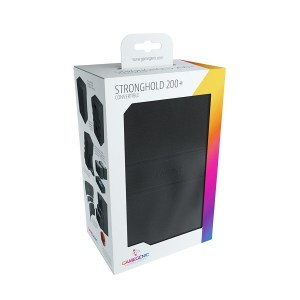 GameGenic: Stronghold 200+ Convertible Deckbox Black
