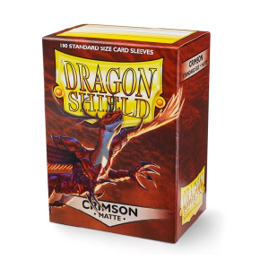 Sleeves Dragon Shield - Standard Matte Crimson (100 stuks)