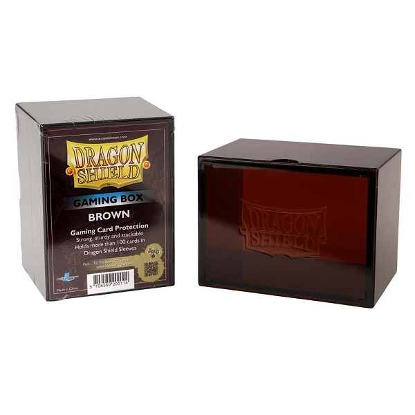 Deckbox Dragon Shield - Brown