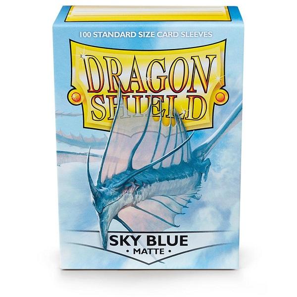 Sleeves Dragon Shield - Standard Matte Sky Blue (100 stuks)