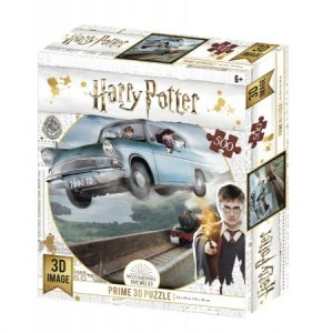 3D Image Puzzel - Harry Potter Ford Anglia (500)